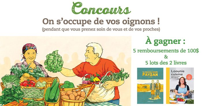 Concours on s'occupe de vos oignons !